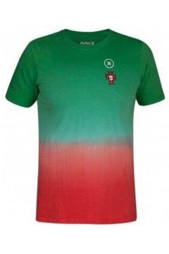 T-shirt Hurley T-shirt Vert/Rouge(115476102)