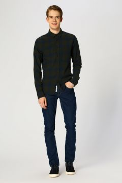 Only & Sons Lacivert Denim Pantolon(113971649)