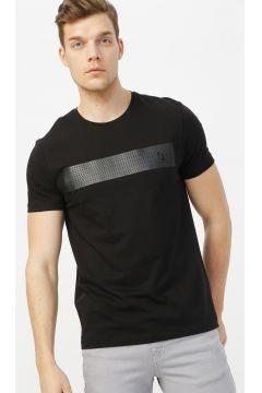 Fabrika Siyah Erkek T-Shirt(113994699)