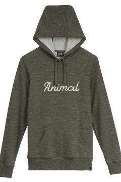 Pullover à Capuche Femme Animal Scribble - Cedar Green(121567493)