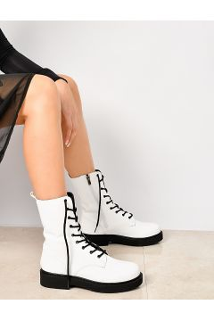 Shoes Time Beyaz Kadın Bot(116808548)