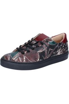 Chaussures Date sneakers noir cuir AB588(115393843)