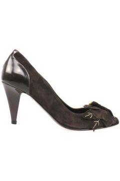 Chaussures escarpins Braccialini escarpins marron daim AN65(88469248)