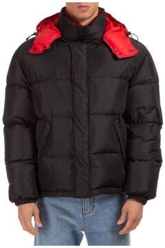 Men's outerwear jacket blouson hood reversible(127464751)