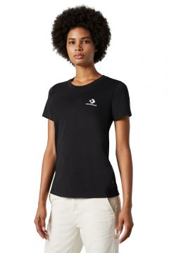 Converse Stacked Logo T-Shirt Black(108487348)