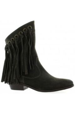 Bottines Just Juce Boots cuir velours(115611571)