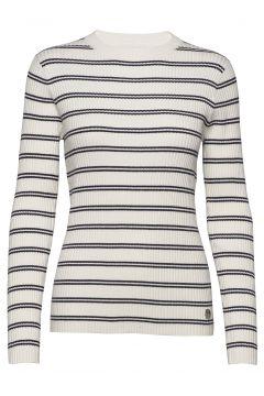 Stripe Rib Sweater Strickpullover Weiß CALVIN KLEIN JEANS(116951122)