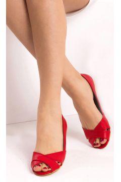 Fox Shoes Kırmızı Kadın Sandalet(118076181)
