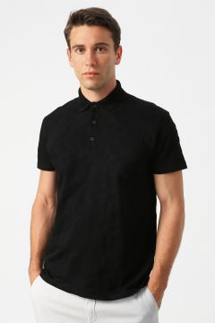 Network Siyah Desenli T-Shirt(125086704)