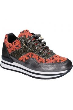 Chaussures 2 Star Gold GOLD sneakers orange textile noir glitter BX35(115442471)