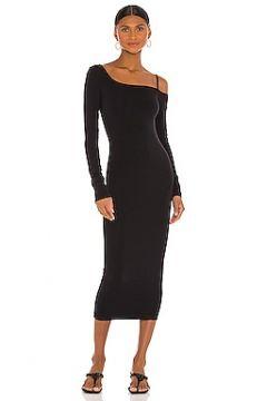 Платье миди one shoulder - Helmut Lang(125435885)