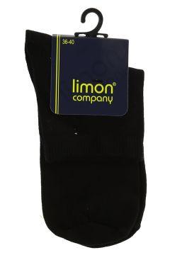Limon Siyah Soket Çorap(113966102)