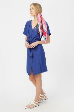 Limon Lacivert Elbise(125020146)