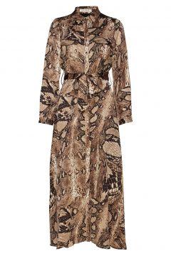 Dress Kleid Knielang Braun SOFIE SCHNOOR(114165484)