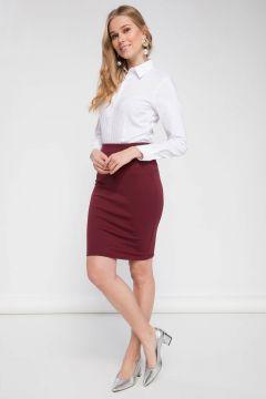 DeFacto Kadın Slim Fit Kalem Etek(108987332)