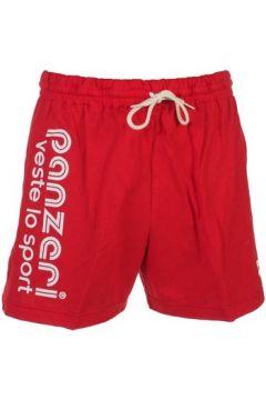Short Panzeri Uni a rouge jersey short(127854408)