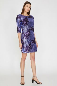 Koton Kadın Pul Detayli Elbise(118023357)