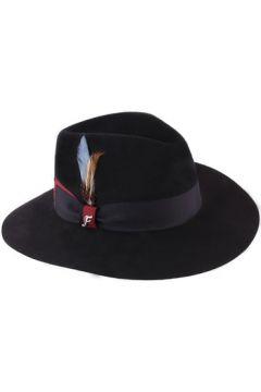 Chapeau Flechet Chapeau feutre imperméable large bord femme Florentine noir(115407113)
