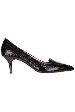 Women's leather pumps court shoes high heel(122988114)