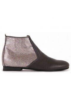 Leder-Stiefel mit Pailletten und Reißverschluss Odeon(112328128)