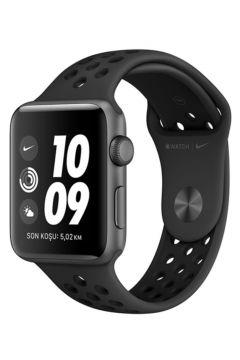 Apple Watch Seri 3 Nike42mm Uzay Grisi Alüminyum Kasa Ve Antrasit/siyah Nike Spor Kordon(124151372)