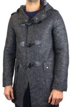Manteau Kebello Duffle coat à capuche mi-long H Gris(115463661)