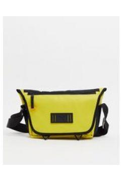 Puma x Central Saint Martins - Borsa messenger gialla con logo-Giallo(124089273)