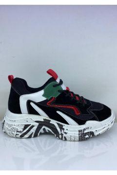 Guja Siyah Spor Ayakkabısı(119984294)