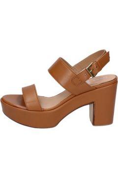 Sandales Shocks sandales marron cuir BY396(88523465)