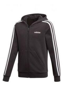 Adidas - Yg Essentials 3 Stripes Fz Hoodie - Mädchenweste(109110849)
