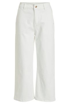 OBJECT COLLECTORS ITEM Mid Waist Wide Fit Jeans Damen White(116170765)