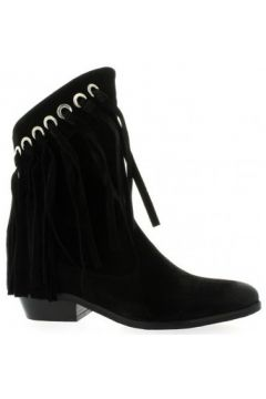 Bottines Just Juce Boots cuir velours(115611572)