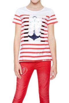 T-shirt enfant Desigual 18SGTK20(115494698)