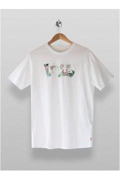 Levi\'s \'Housemark\' T-Shirt mit Grafik, weiß, WEIß(111089248)