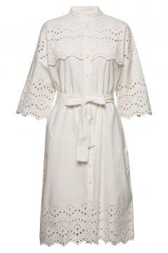 Tumi Dress Kleid Knielang Weiß LOLLYS LAUNDRY(114164488)