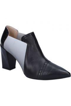 Bottines Gianni Marra bottines noir cuir textile BX119(115442484)