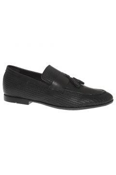 Borelli Hakiki Deri Siyah Erkek Ayakkabı(110946056)