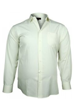Chemise Doublissimo chemise popeline traditionnelle beige(88703751)