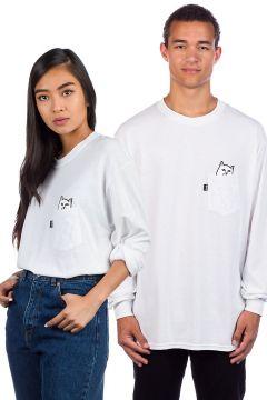 Rip N Dip Lord Nermal Pocket Long Sleeve T-Shirt wit(85172374)