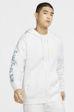Nike Sportswear Swoosh Tam Boy Fermuarlı Erkek Kapüşonlu Üst(118057258)