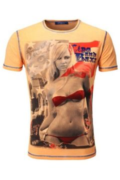 T-shirt Cipo And Baxx Tee shirt imprimé homme T-shirt 5421 orange fashion(115397878)