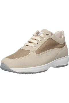 Chaussures Saben Shoes sneakers beige daim textile AJ208(115399871)