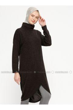 Black - Polo neck -- Tunic - Marwella(110332546)
