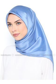 Blue - Plain - Scarf - Nihan(110334957)