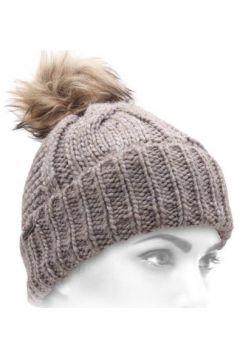 Bonnet Seeberger Bonnet pompon Frosty nutria-87(88689737)
