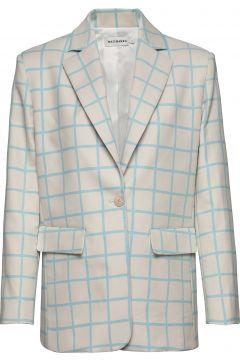 Pohjoinen Iso Ruutu Jacket Blazer Jackett Bunt/gemustert MARIMEKKO(117080606)