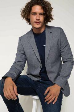 DeFacto Erkek Keten Karışım Modern Fit Blazer Ceket(108638737)