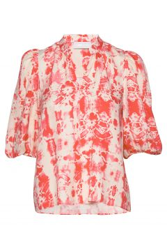 Ivy Puff Blouse Bluse Langärmlig Pink STORM & MARIE(114153842)