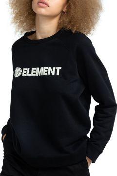 Element Logic Crew Damen Pullover - Flint Black(121115392)