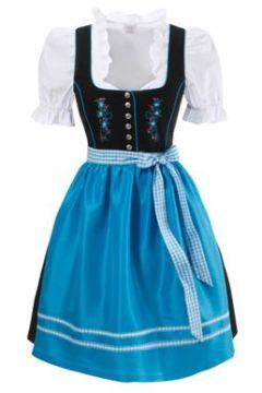 BERND NABER Dirndl dreiteilig blau / schwarz / weiß(108191897)